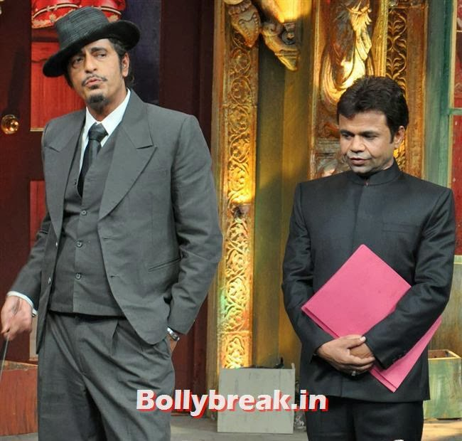 Chunky Pandey and Rajpal Yadav, Mahi Gill Promotes Gang of Ghosts on 'Mad in India'