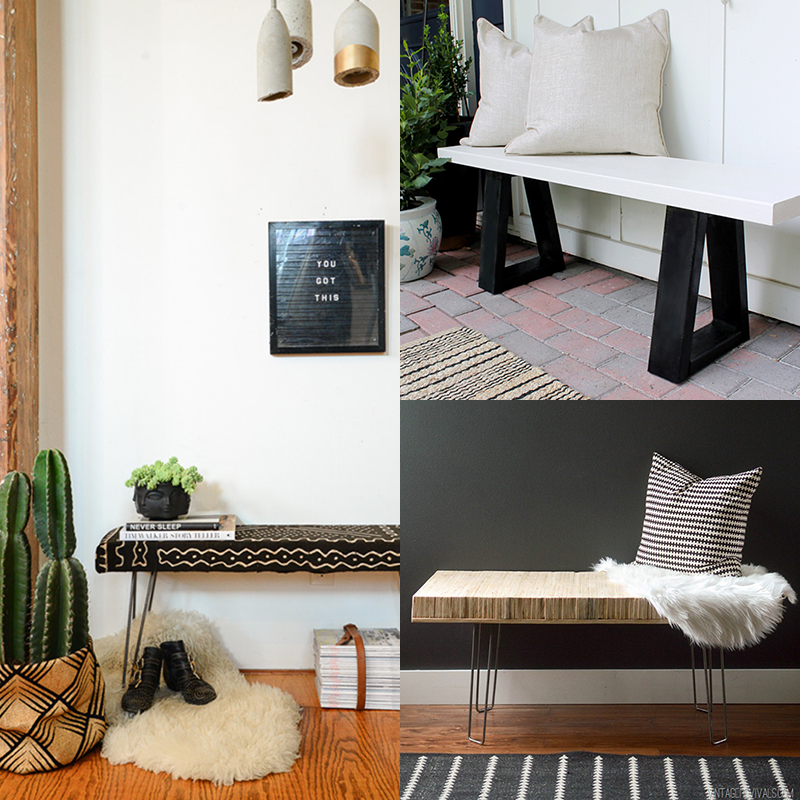 5 DIY to try # Benches