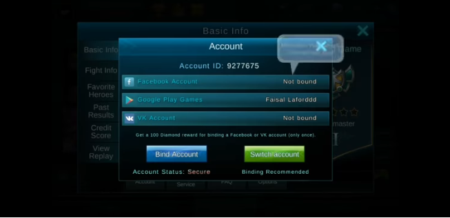 How to Switch Mobile Legends Accounts