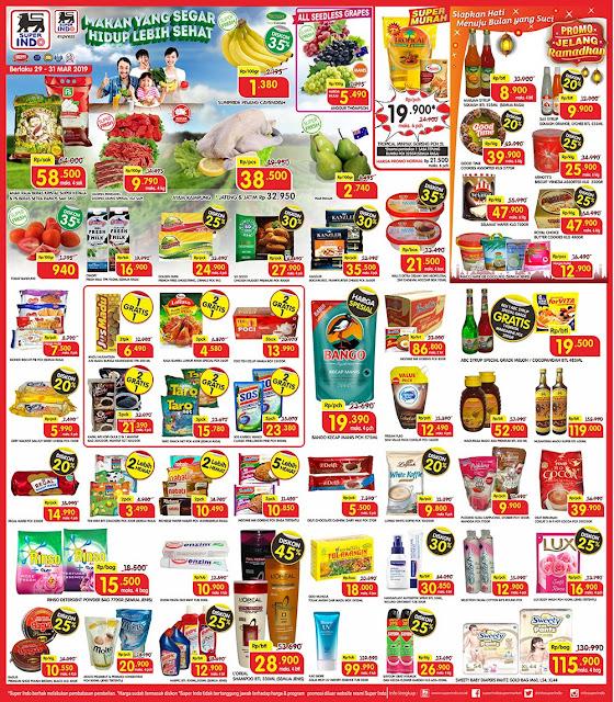 #Superindo - #Promo #Katalog JSM Periode 29 - 31 Maret 2019
