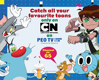 SLT PEO TV launches Cartoon Network and POGO
