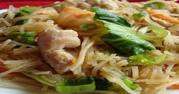 Pork And Shrimp  Pancit Recipe