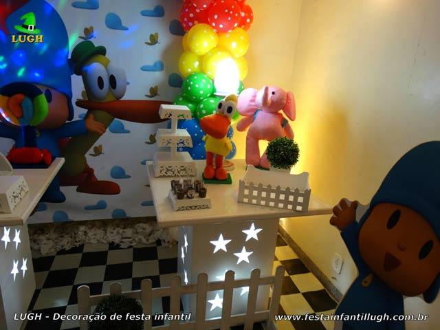 Decoração de aniversário Pocoyo - Festa infantil