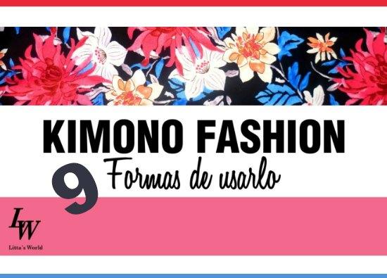 9 formas de usar un kimono