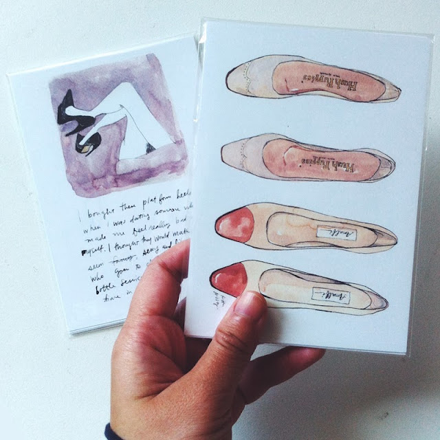 Kitty N. Wong / Shoes / Off postcards