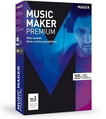 تحميل برنامج Download MAGIX Music Maker 24.0.2.46 لتعديل الصوت للكمبيوتر مجانا