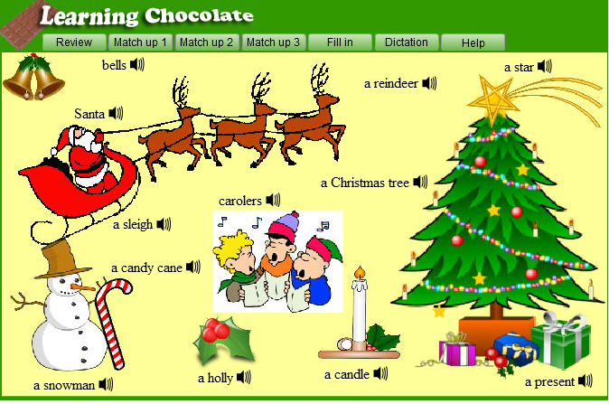 christmas vocabulary do you know these words