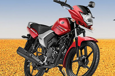 Yamaha Saluto 125cc Red front look image