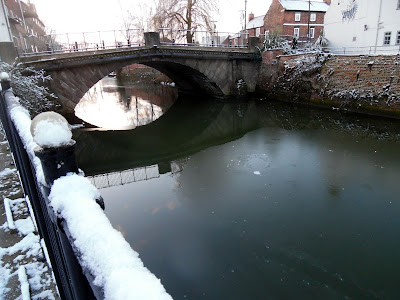 Picture one of snow and ice in Brigg on January 23, 2019 by Nigel Fisher