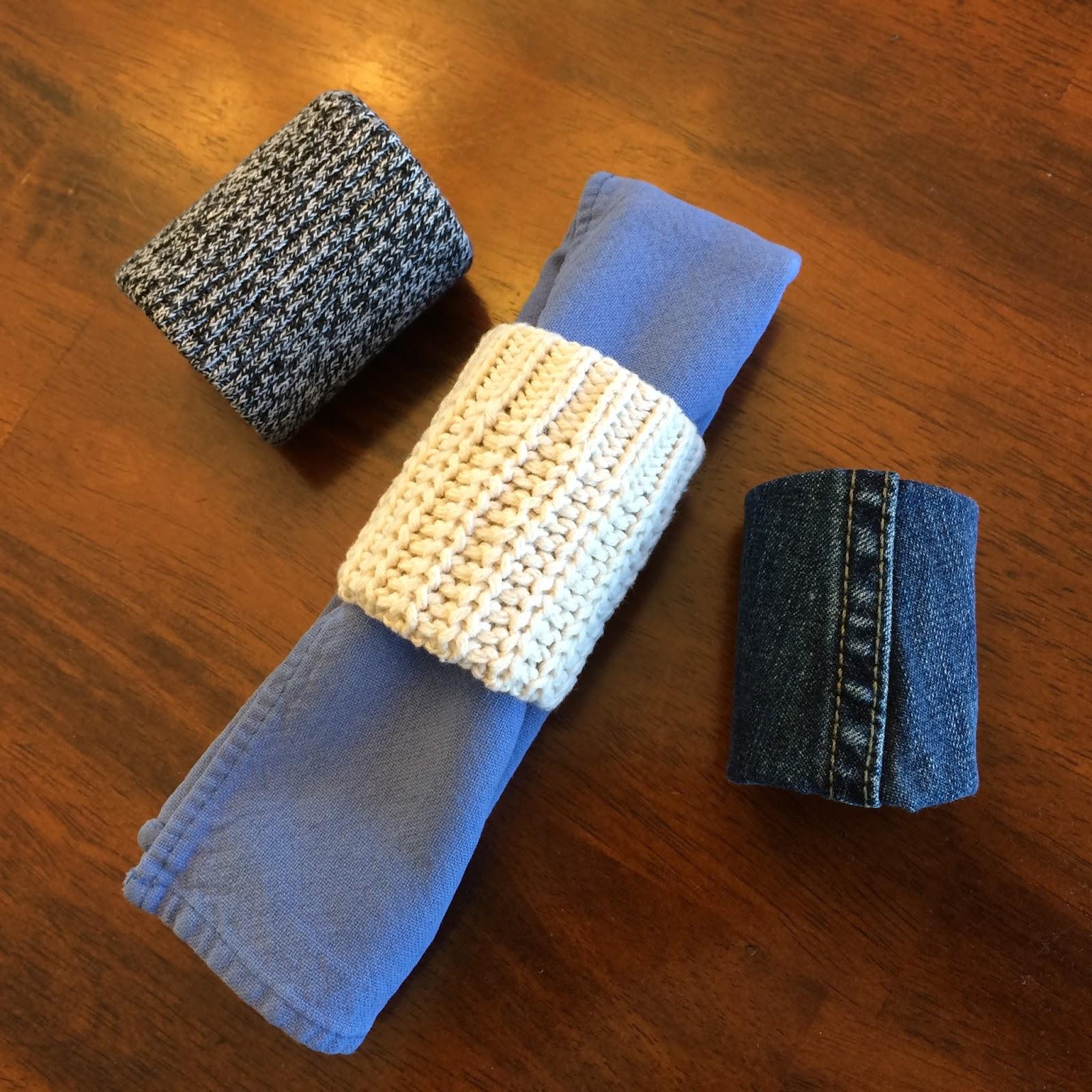 Diy Fabric Napkin Rings