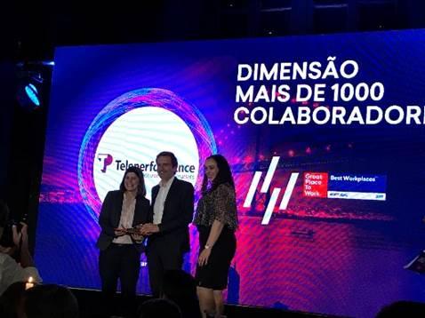 Teleperformance mais uma vez na elite dos vencedores do Great Place to Work® Portugal