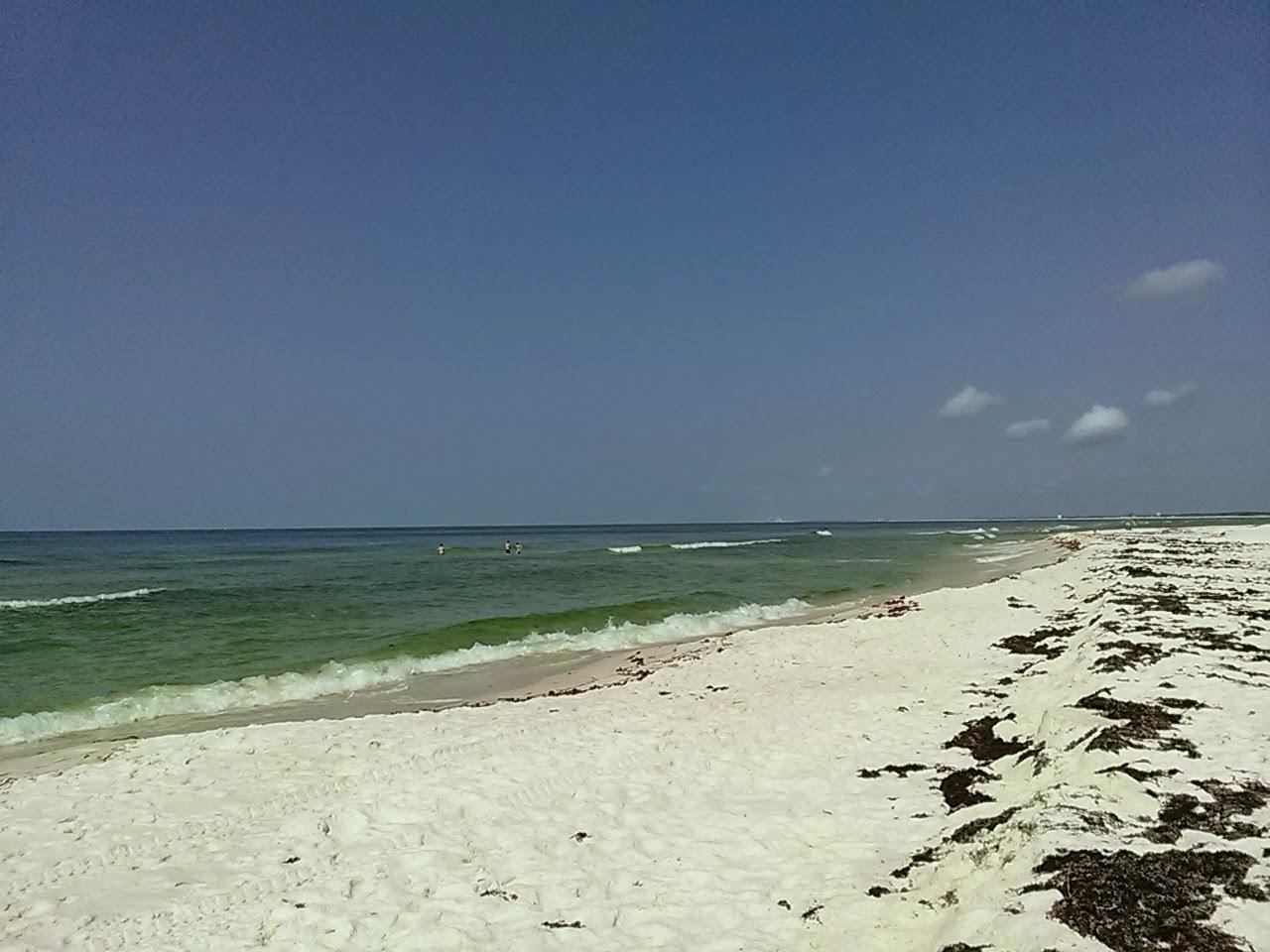 Pensacola Florida Camping On Beach