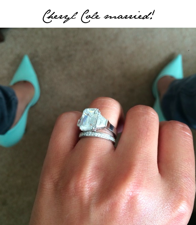 Cheryl Cole engagement ring 2014