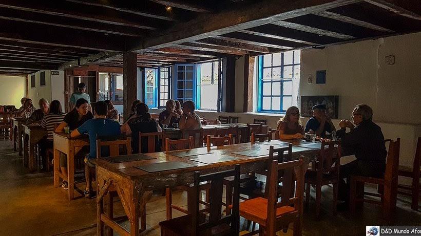 Refeitório São José, local do café da manhã da Pousada do Caraça - Onde se hospedar no Santuário do Caraça