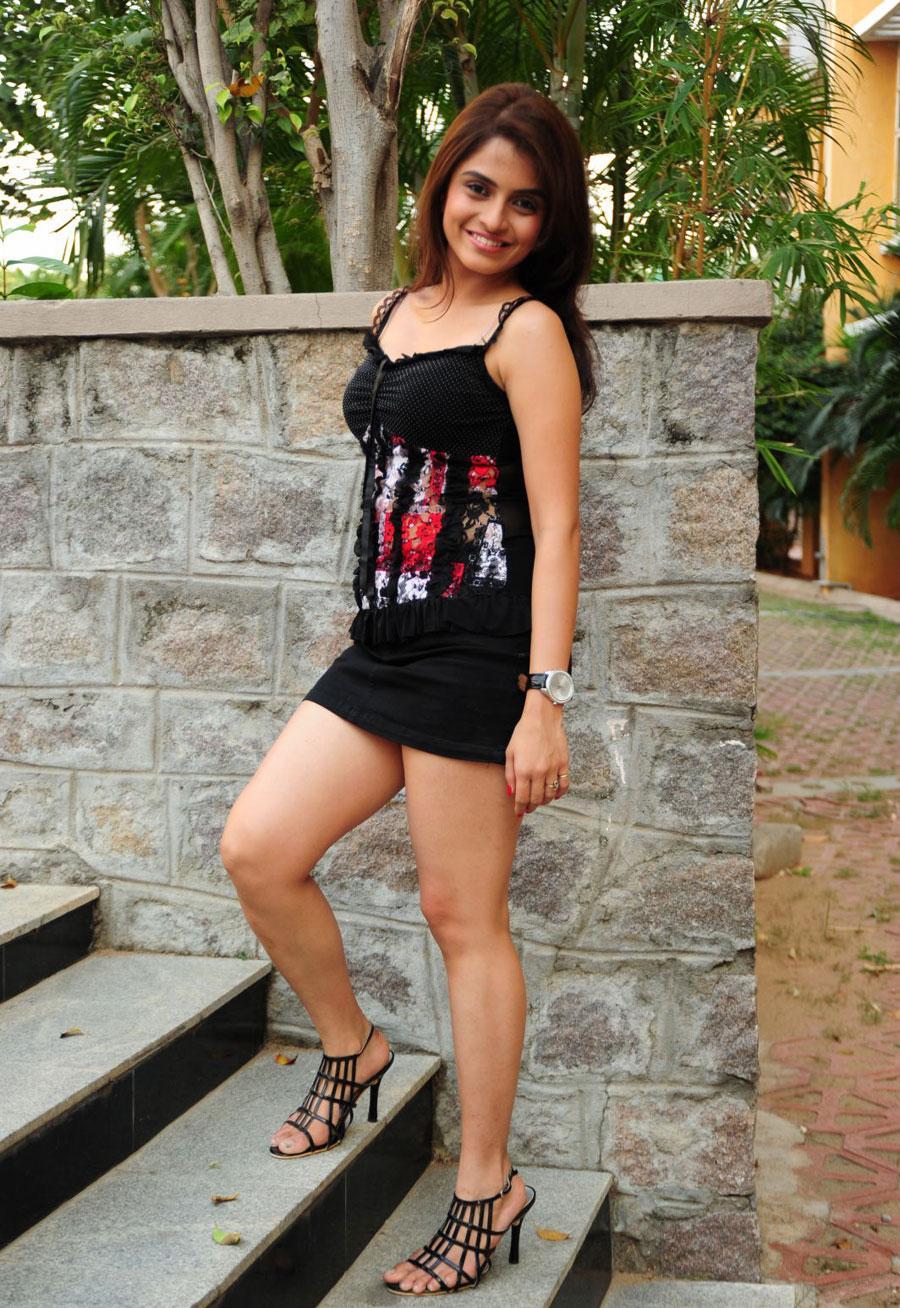 Sheena Shahabadi Spicy Stills Mini Skirt Photos
