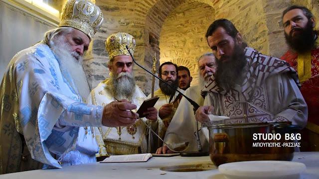 Εγκαίνια του Ιερού Ναού της Ζωοδόχου Πηγής στη Αγία Μονή Ναυπλίου (βίντεο)