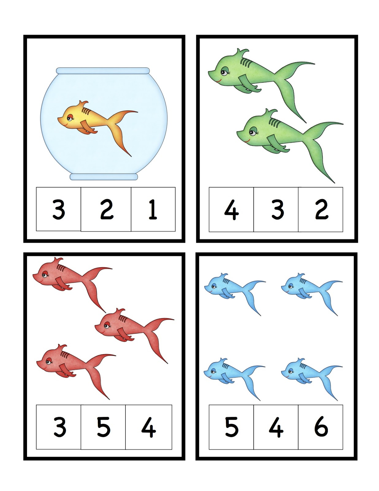 Fish Pattern Cards Template 2 1 236 1 600 Pixels