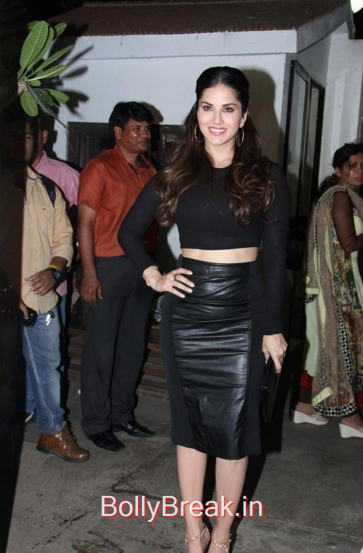 Sunny Leone images, Sunny Leone Hot Pics in Black Dress