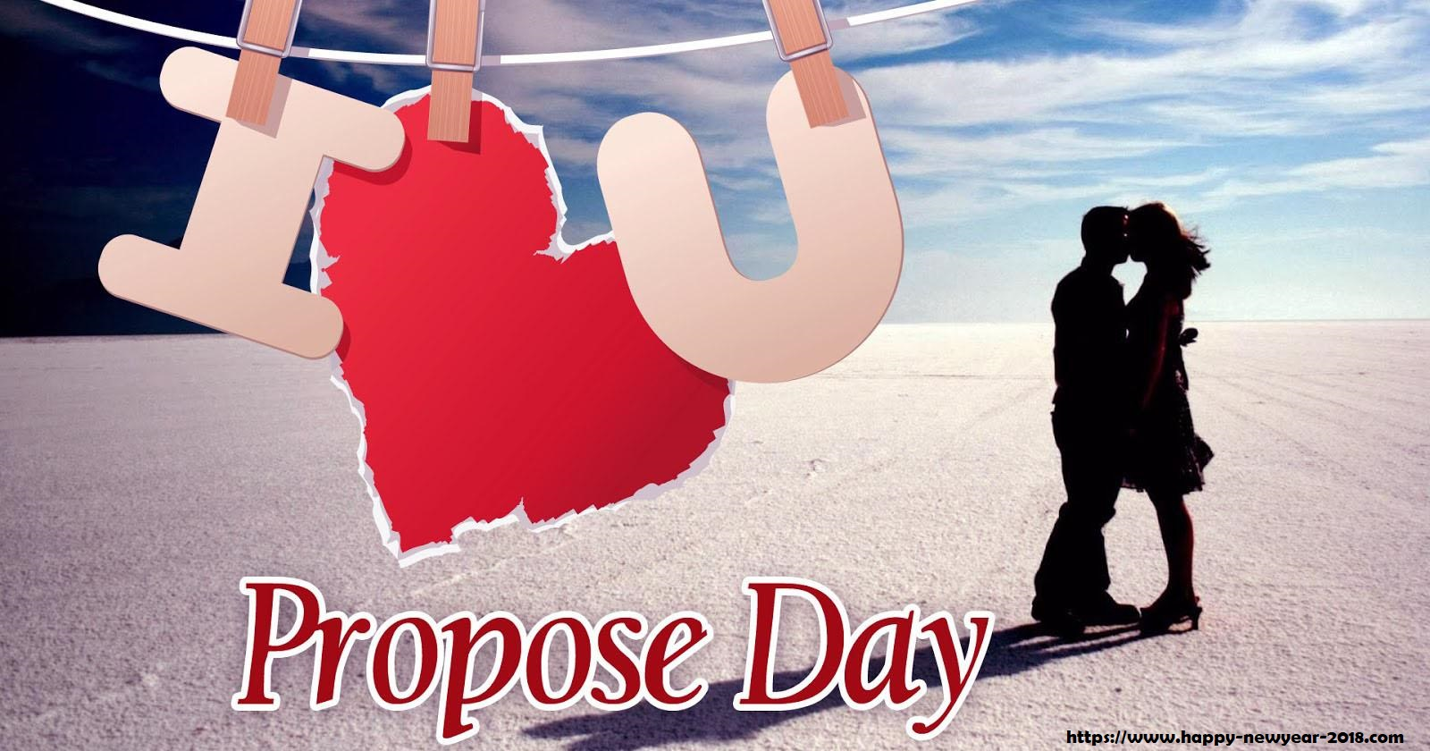 propose day cover