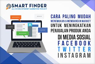 Cara paling mudah menemukan dan mengembangkan market di media sosial