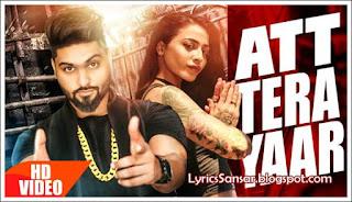 Navv Inder : Att Tera Yaar Lyrics