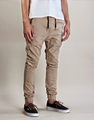 Warna Cream Celana Jogger