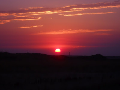 Sunrise in South Dakota