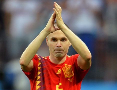 Andres Iniesta confirms retirement from International football following Spain's World Cup exit
