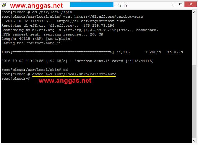 Cara memasang SSL gratis
