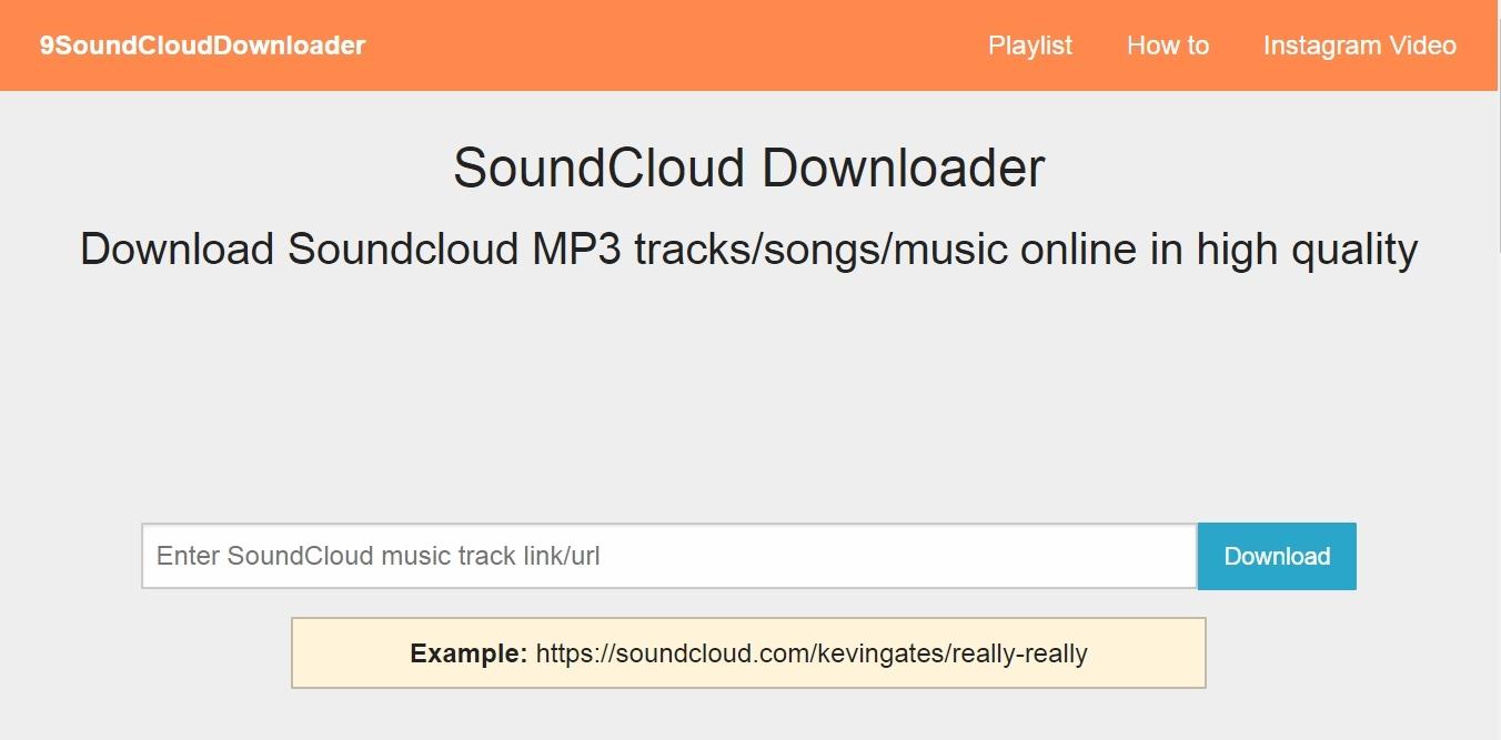 طريقة تحميل الاغانى من ساوند كلاود SoundCloud بدون استخدام برامج