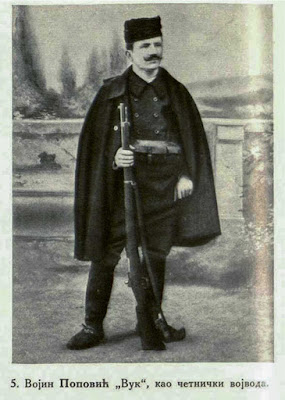 Vojin Popović (the Wolf) as Komitadji