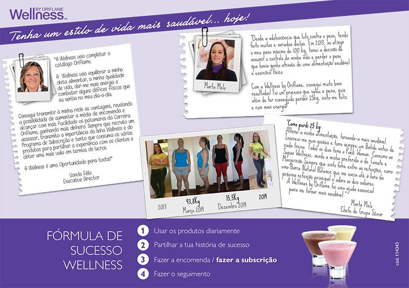 Subscrição Wellness - Testemunhos
