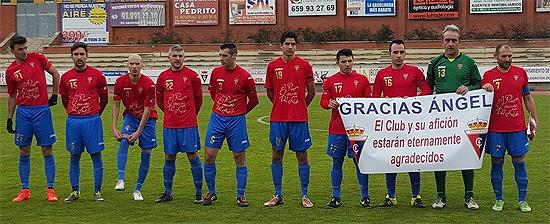Real Aranjuez homenaje a Angel Jaráiz