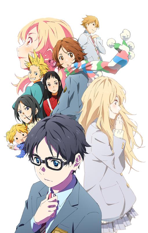 El rincon de Perpi: Anime reseña: Shigatsu wa kimi no Uso