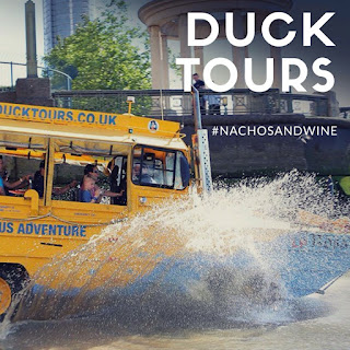Duck Tours London Tourists day out boat bus