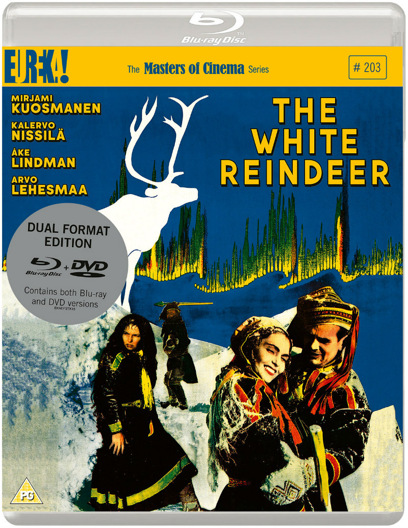 the white reindeer blu-ray