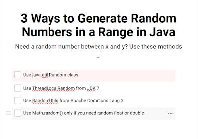 3 Ways to Generate Random Integers in Java