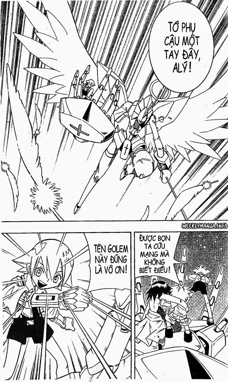 Shaman King [Vua pháp thuật] chap 199 trang 17