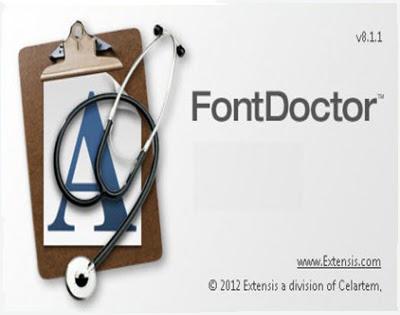 Extensis Font Doctor 8.1.1.4 + Keygen