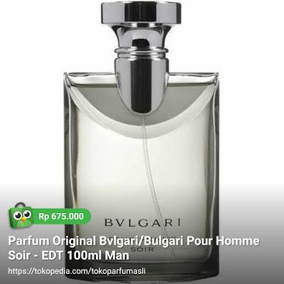 toko parfum asli parfum original bvlgari pour homme soir edt 100ml man