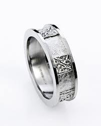 Mens Wedding Rings For Mechanics