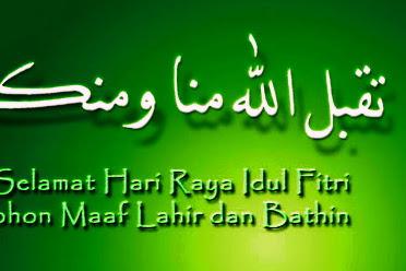Selamat Idul Fitri Template