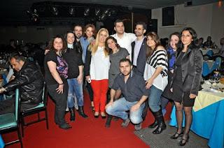 Εθελοντές στο πρώτο Δείπνο στο σκοτάδι στην Αθήνα