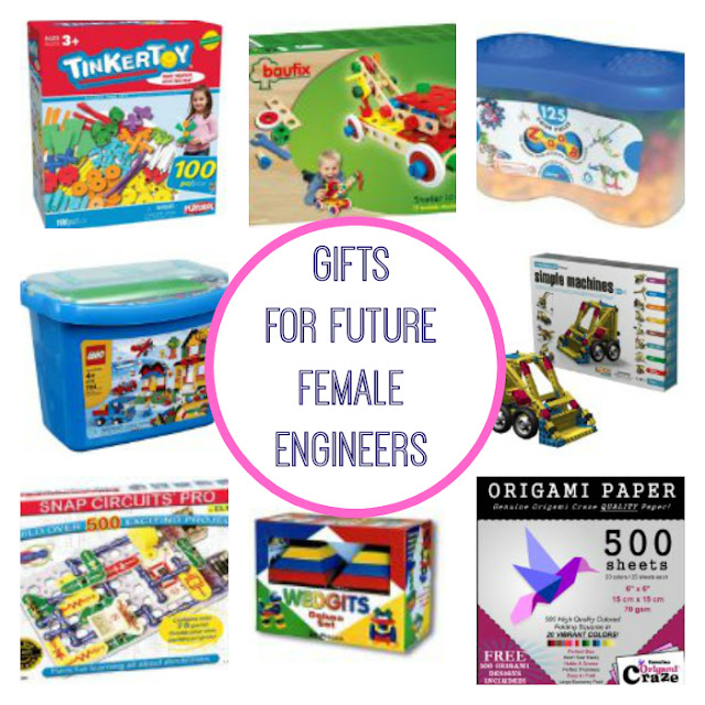 10 great gifts for girls who like to build things. Age recommendation is 4-10