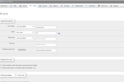 Membuat User Baru Di PhpMyAdmin Xampp