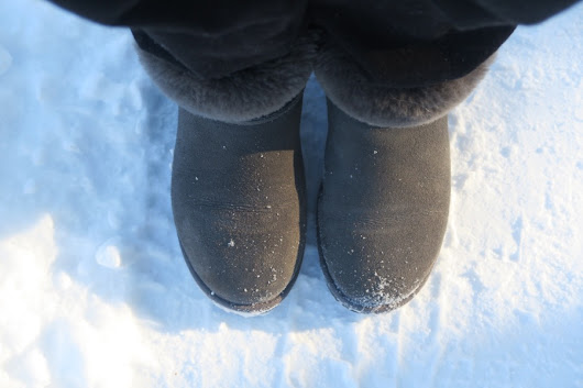 OOTD with UGG AUSTRALIA IN THE SNOW