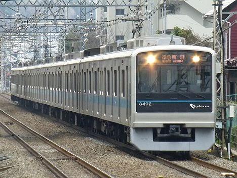 小田急線 準急 町田行き 1000形