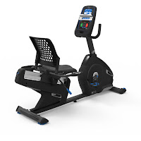 Nautilus R616 Recumbent bike, features reviewed compared with R614