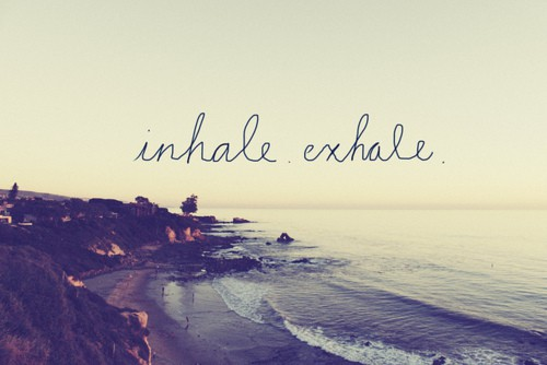 Lifestyle Maven: breathe...just breathe.