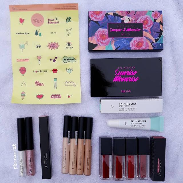 Althea Korea's Exclusive Makeup Line review